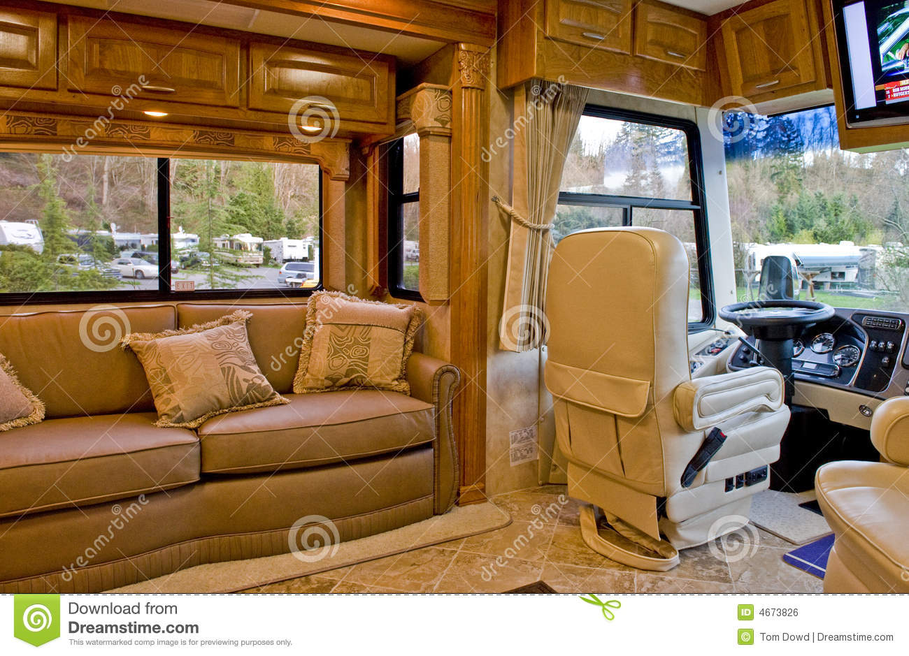 Interior Da HOME De Motor Imagem De Stock Royalty Free