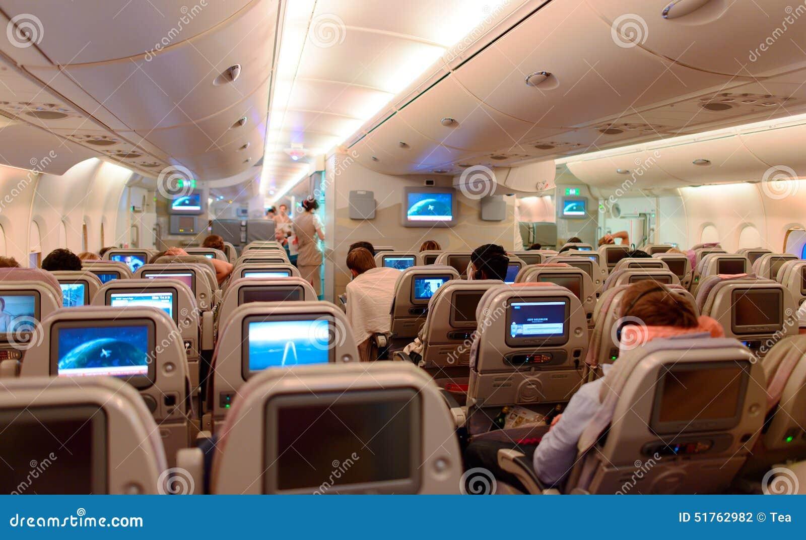 Interior de airbus a380 fotografia editorial imagem de for Airbus a380 interior