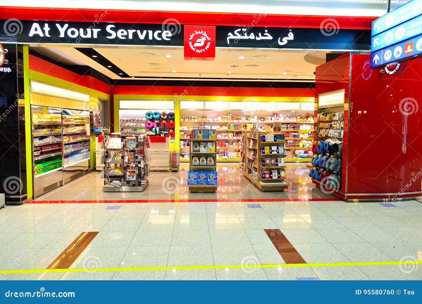Interior De Dubai Con Franquicia Imagen editorial - Imagen de indoor ...