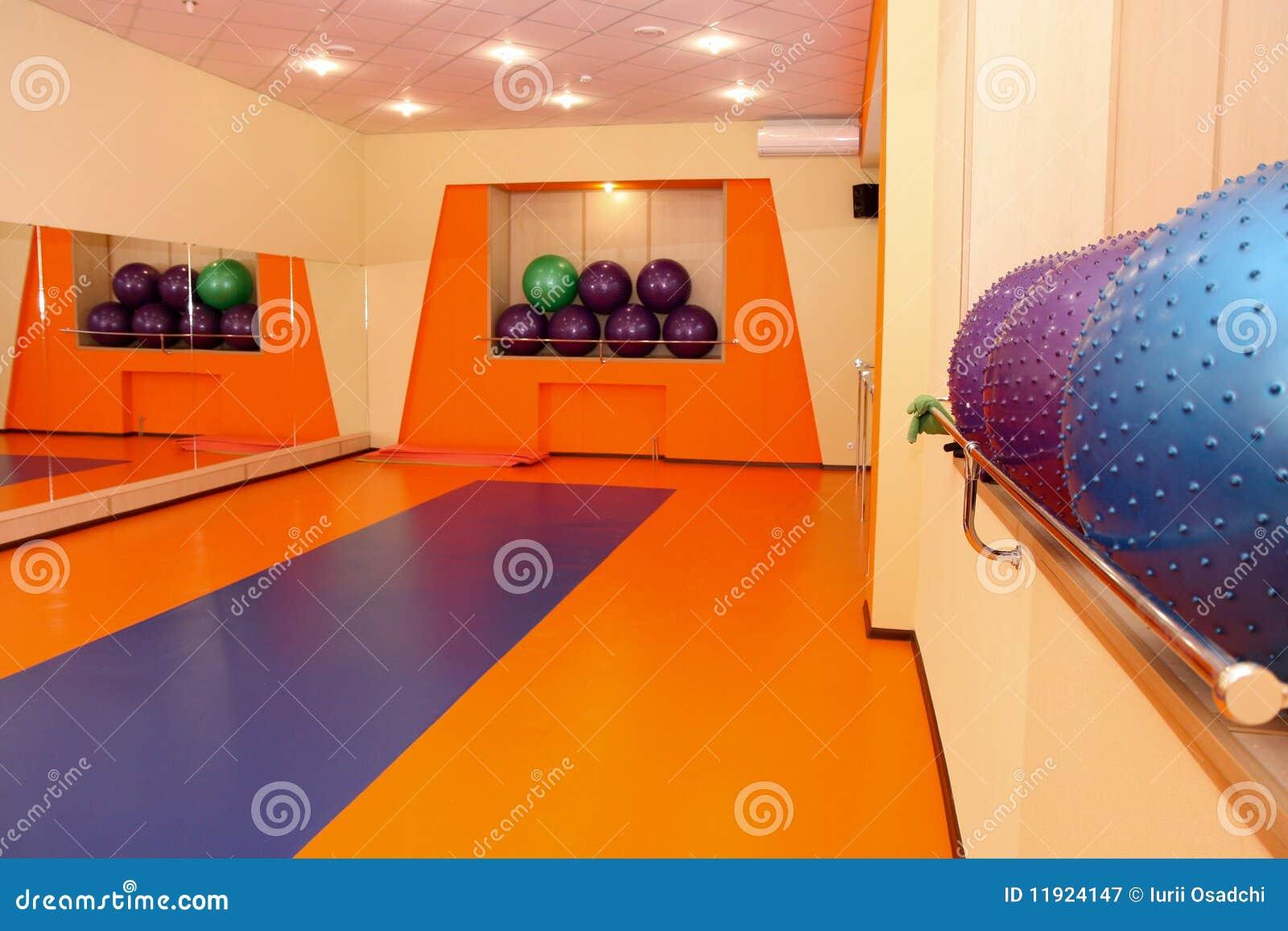 Interior de la gimnasia