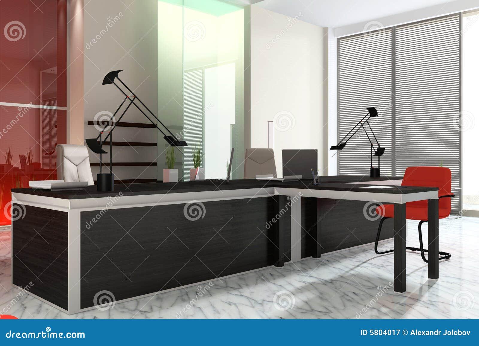 Interior de oficinas modernas design classic interior for Interior oficinas modernas