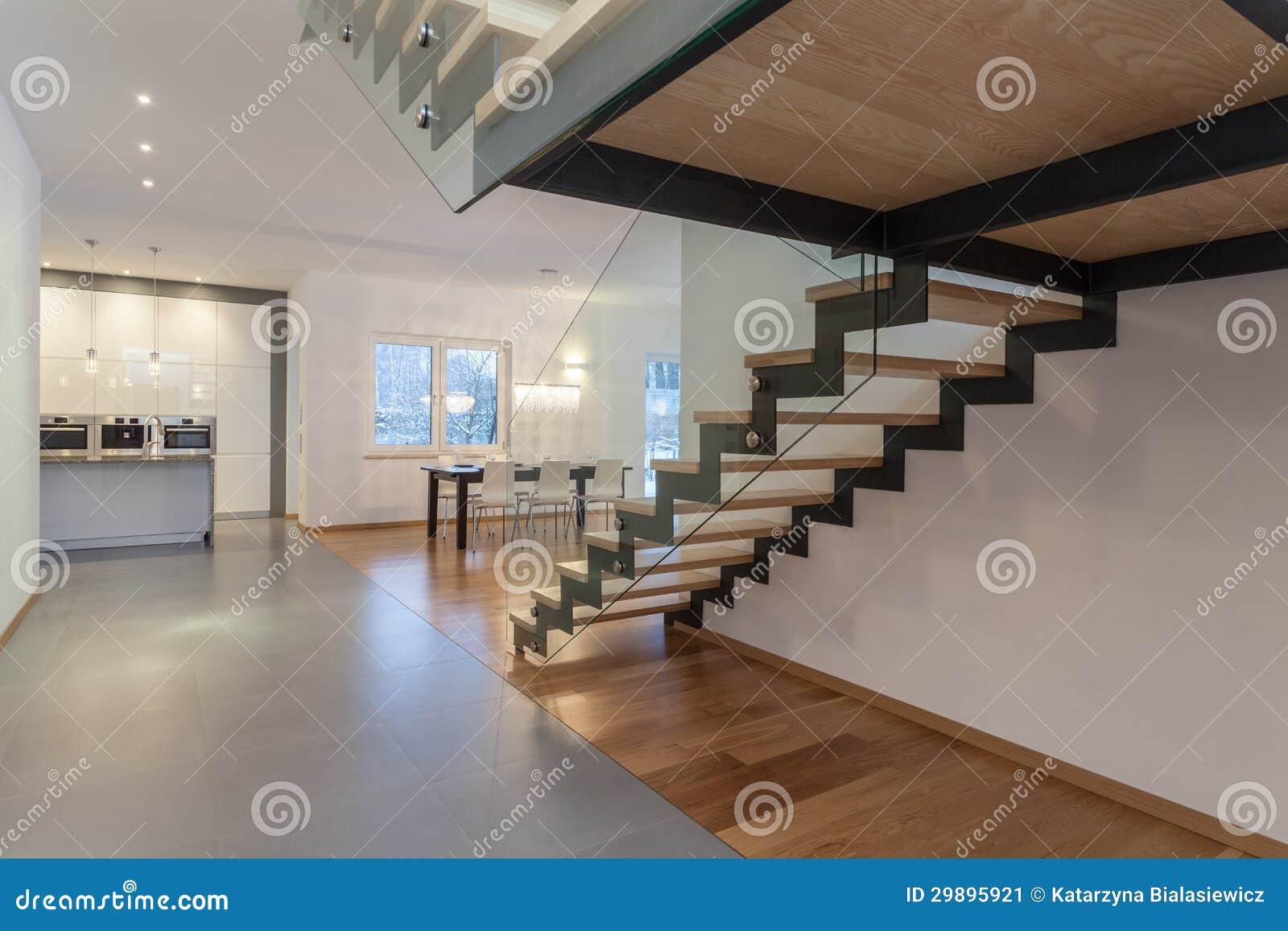 interior de los diseadores escalera imagen de archivo with escalera de interior