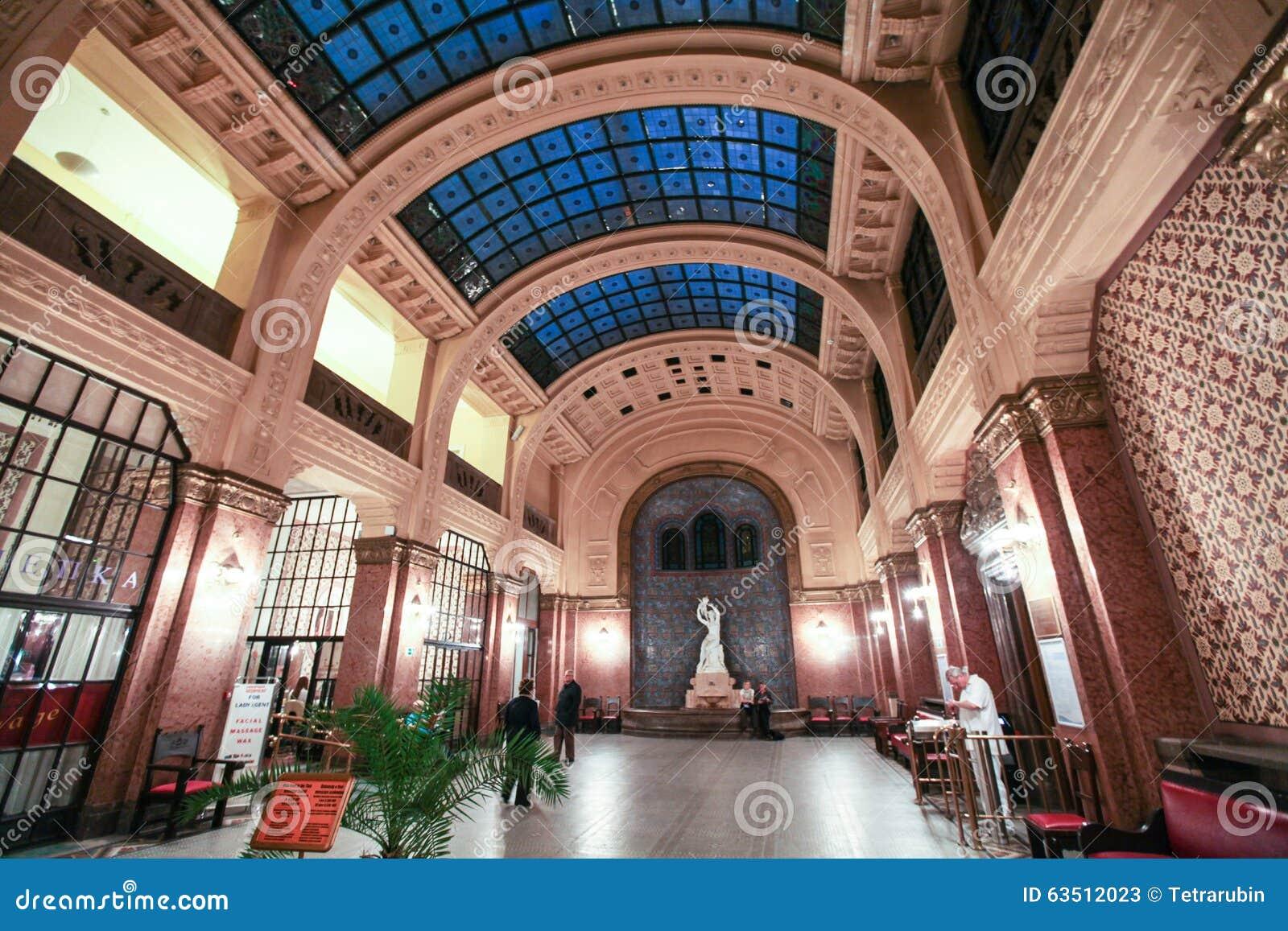 Banos Gellert.Interior De Los Therms Banos Balneario Gellert Foto De