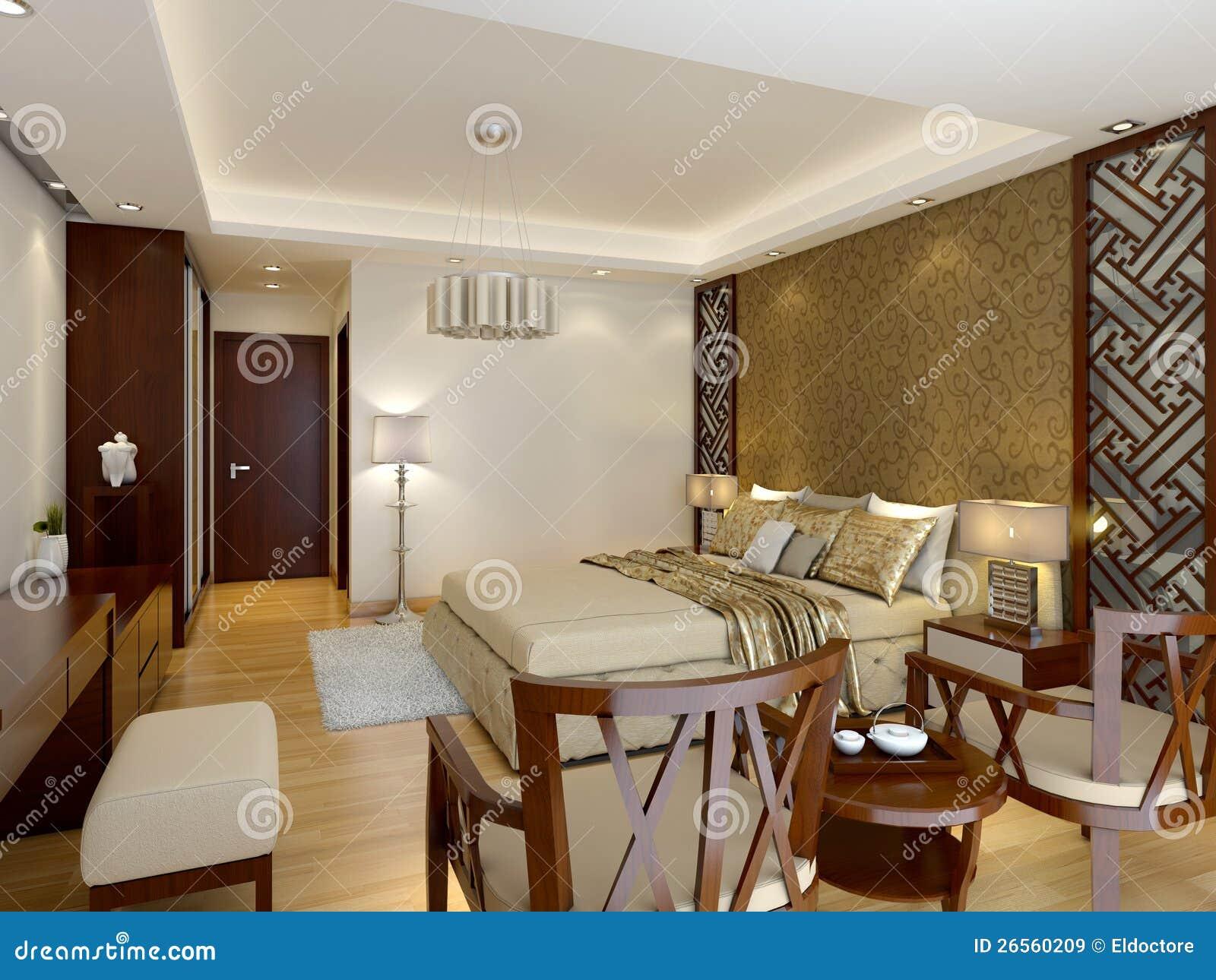Interior de lujo moderno del dormitorio principal im genes for Foto del dormitorio principal moderno