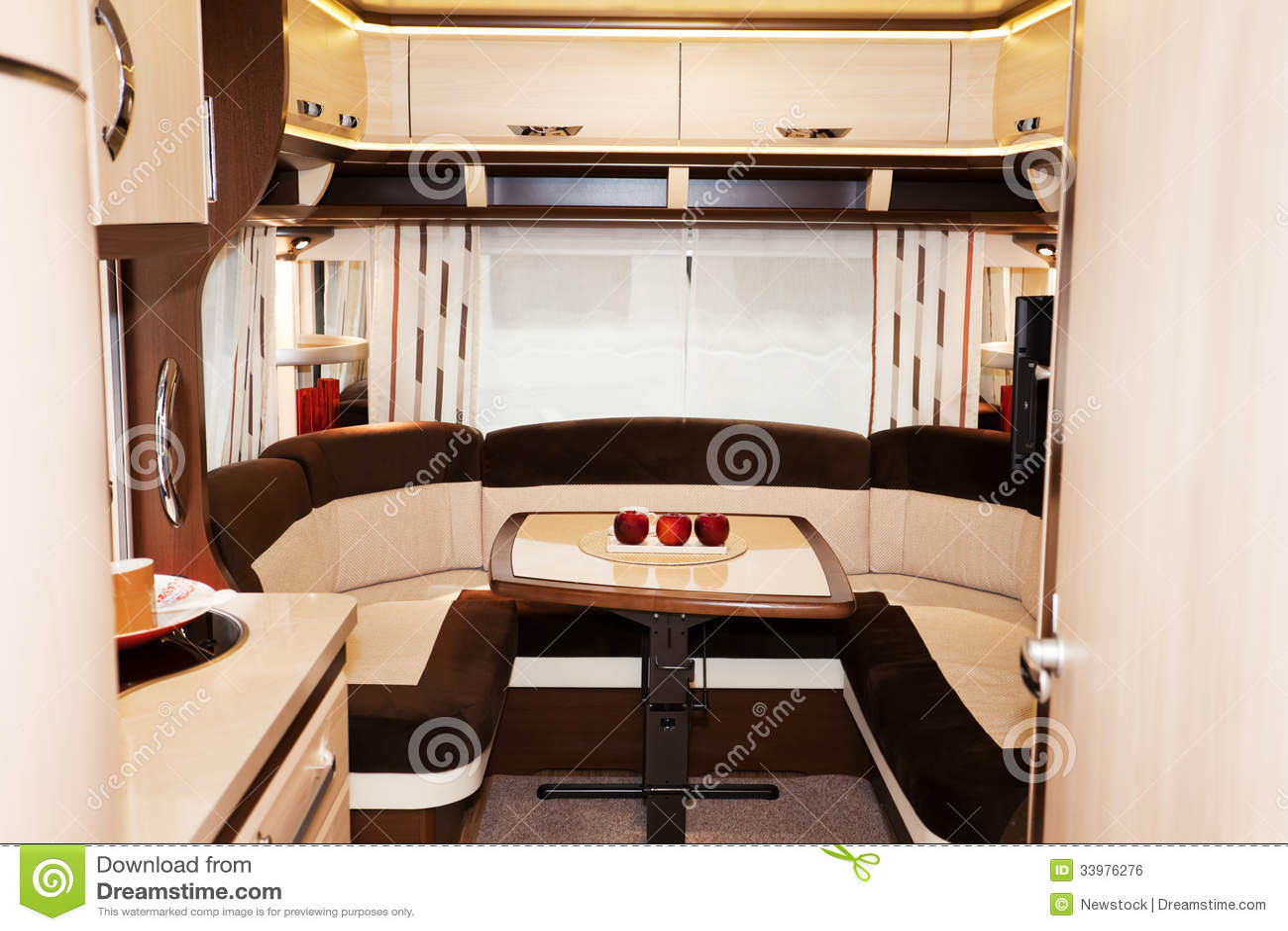 Interior De Motorhome Luxuoso Imagem De Stock Royalty Free Part 54