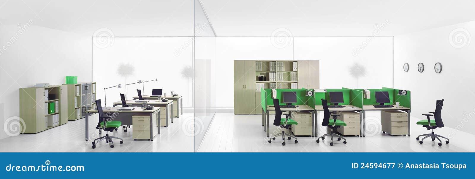Interior de oficinas modernas for Oficinas modernas concepto
