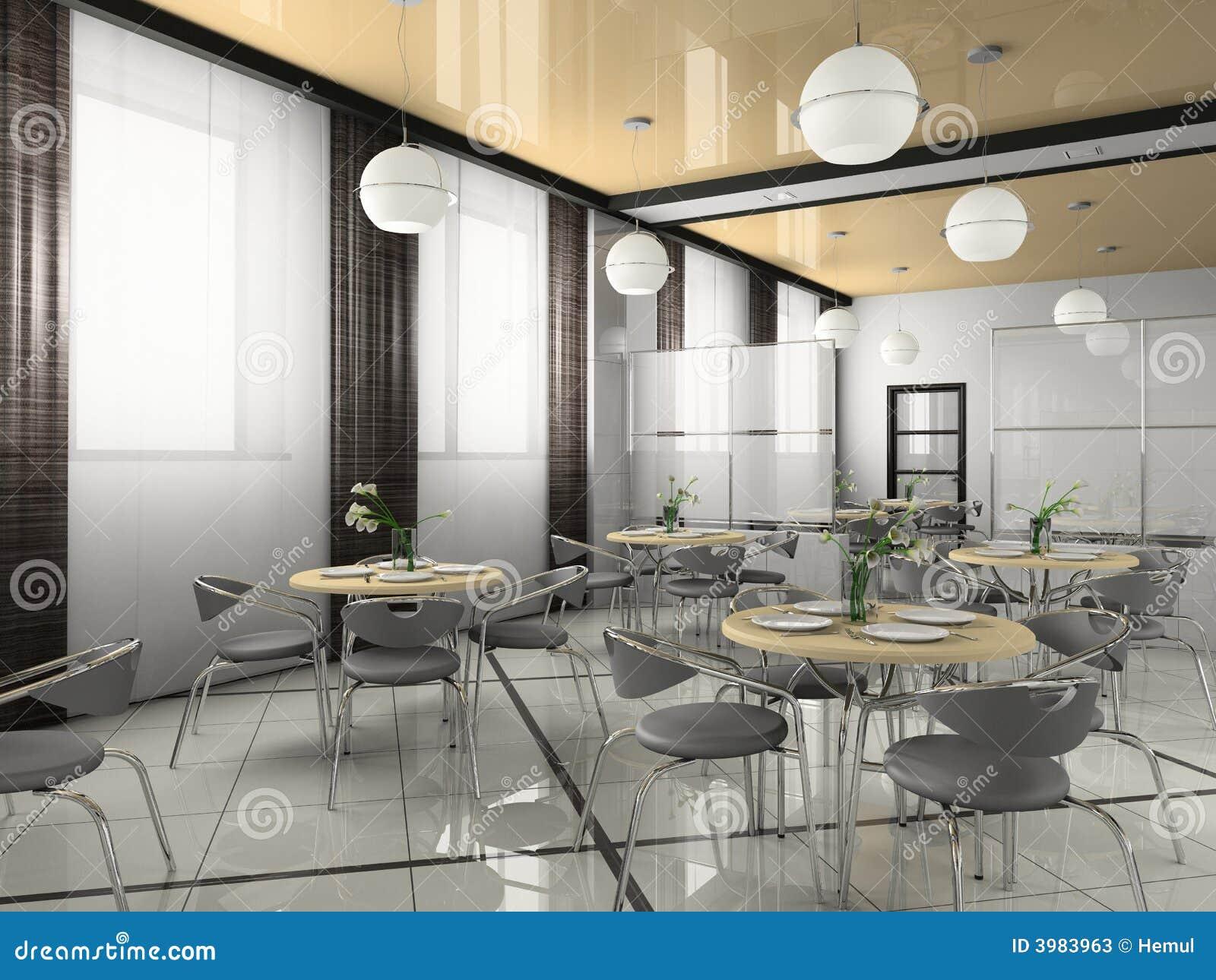 Interior De Restaurantes Modernos Fotos De Stock Imagem