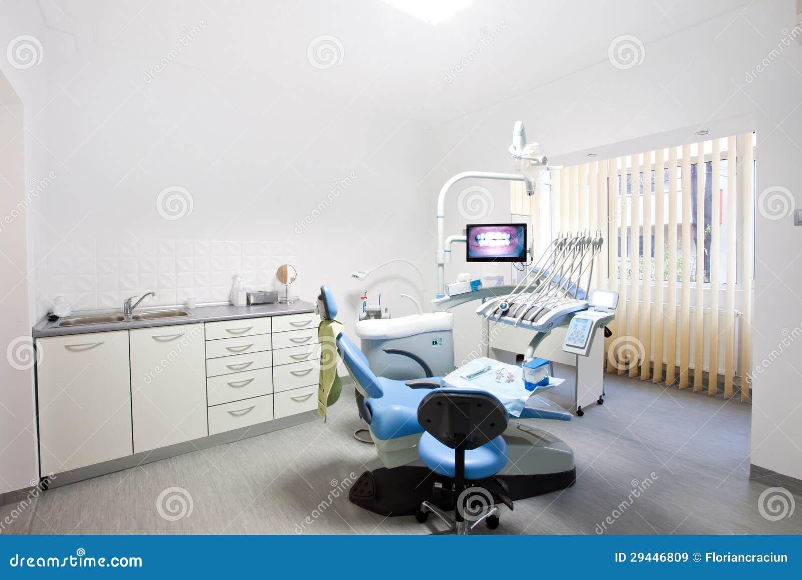 Interior de un cuarto de la medicina dental
