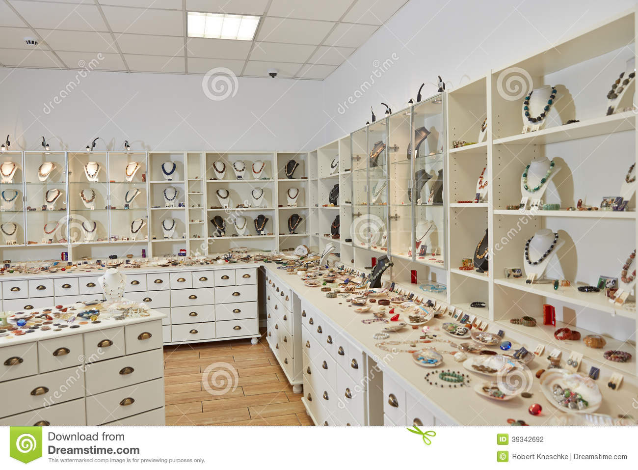 Interior Decoration Of Jewelry Stock Photo - Image of nobody, window ...