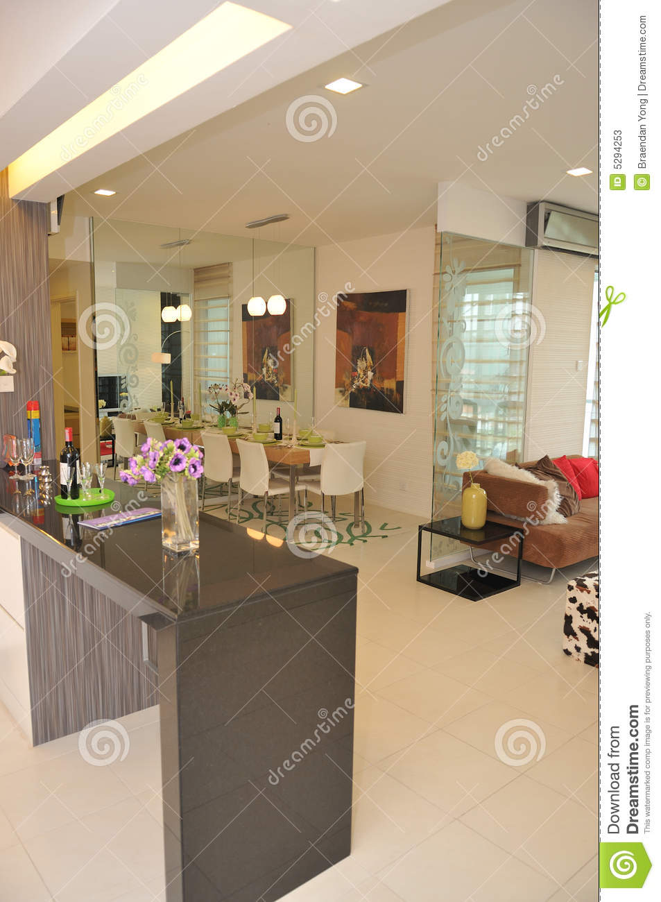 Interior decoration series 6 stock photos image 5294253 for Teng yong interior design decoration