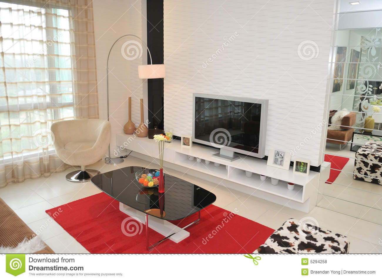 Interior decoration series 9 royalty free stock photos for Teng yong interior design decoration