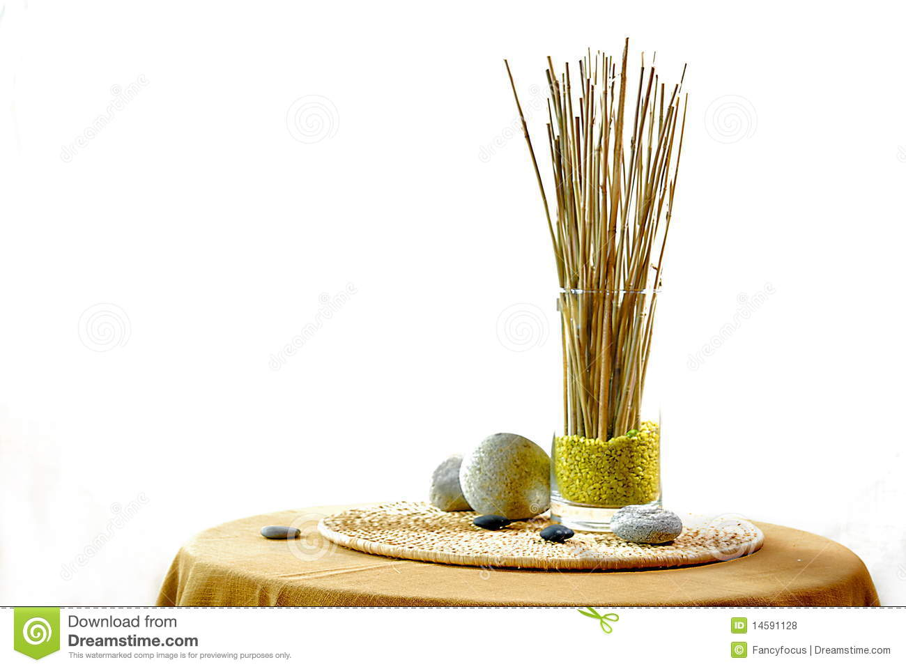 Interior decoration with zen ambiance stock photo image for Ambiance decoration
