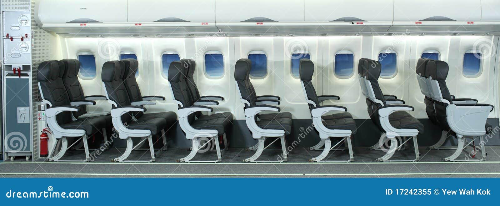 Interior del aeroplano