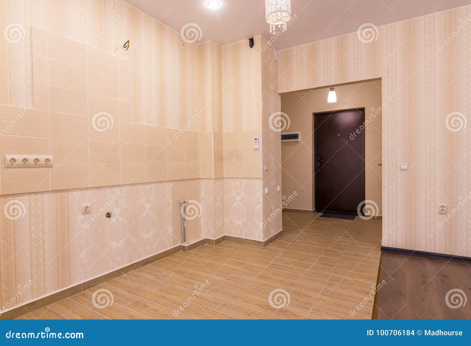 Interior Del Apartamento-estudio, Visión Desde El Sitio A La ...