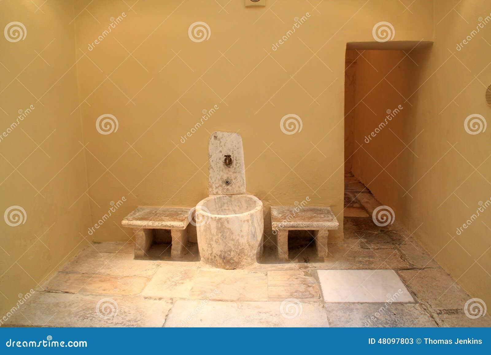 Interior del ba o turco del otomano en la isla de kos en - Bano turco en casa ...