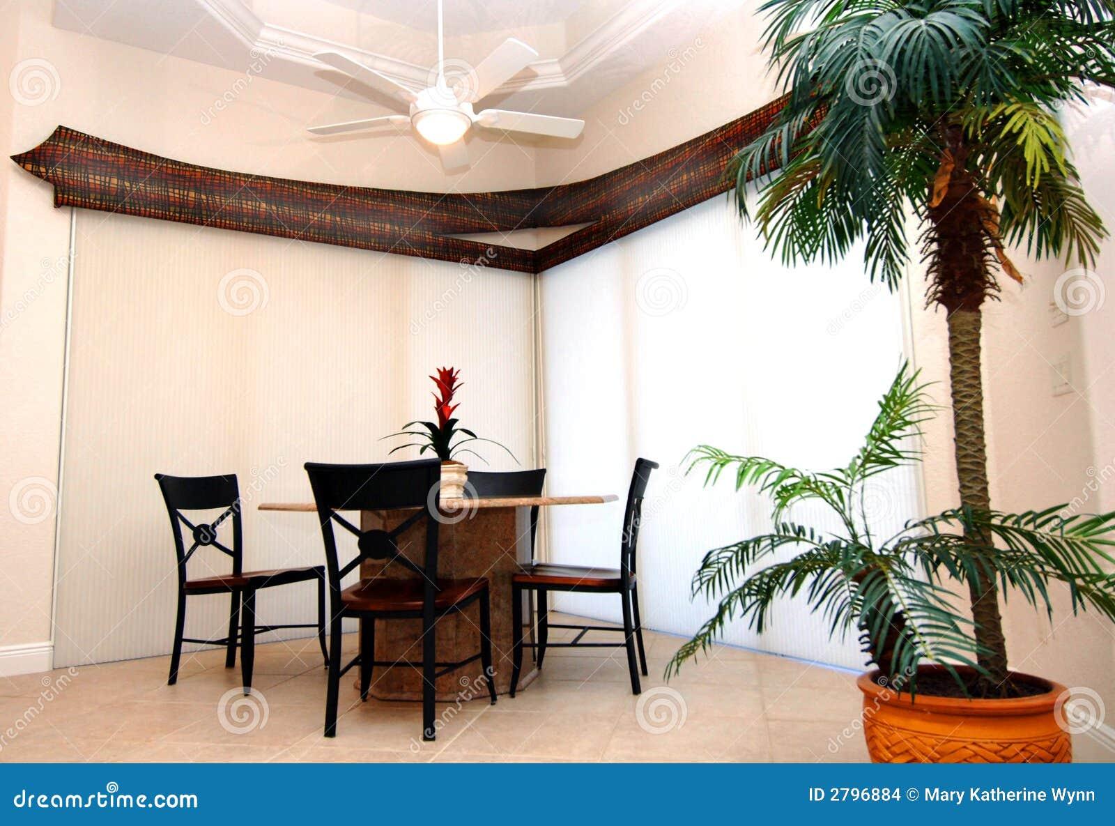Interior del comedor