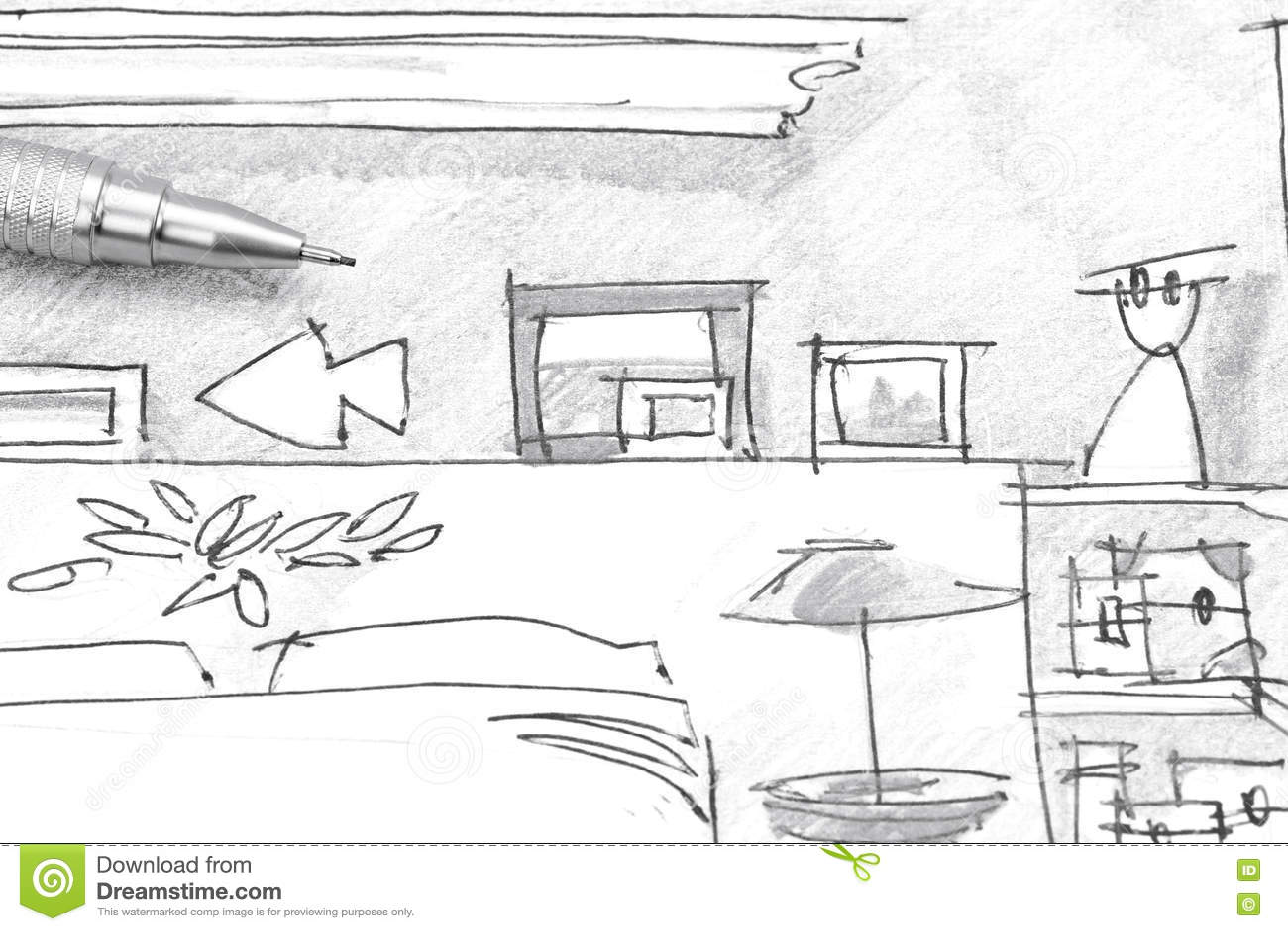 dormitorio dibujo | getpaidforphotos.com - Dibujo De Muebles
