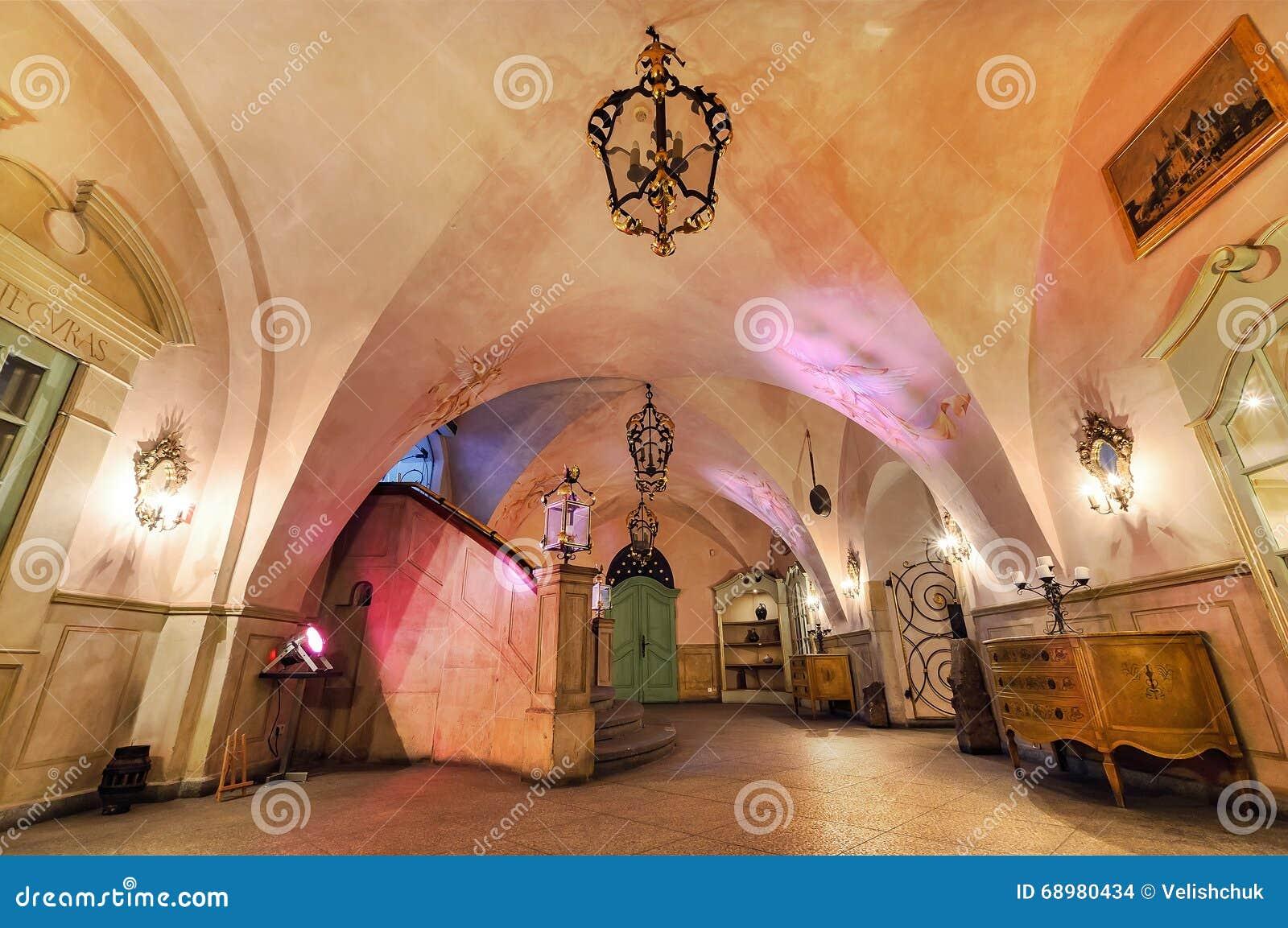 Interior del sótano de Swidnicka - el corazón de Wroclaw