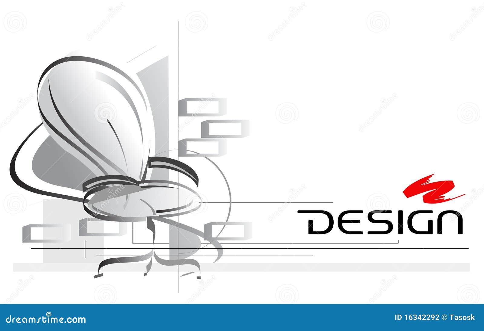 Design Illustration Interior Office Vector
