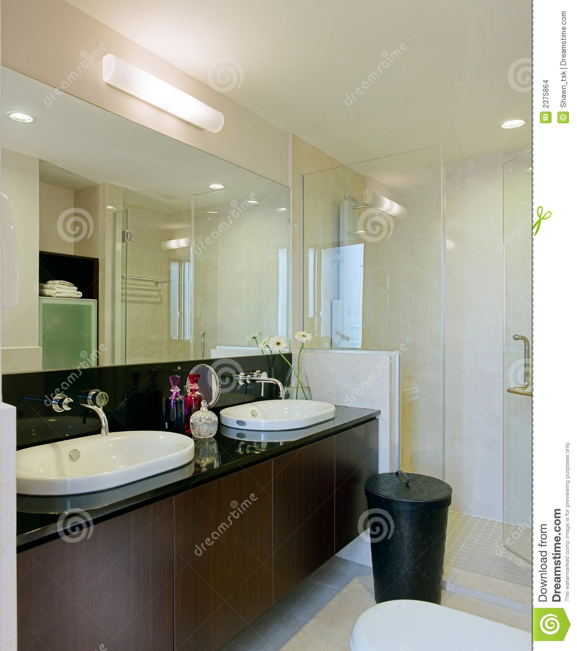 Interior design bathroom stock photo image of cabinet for Bathroom interior designs