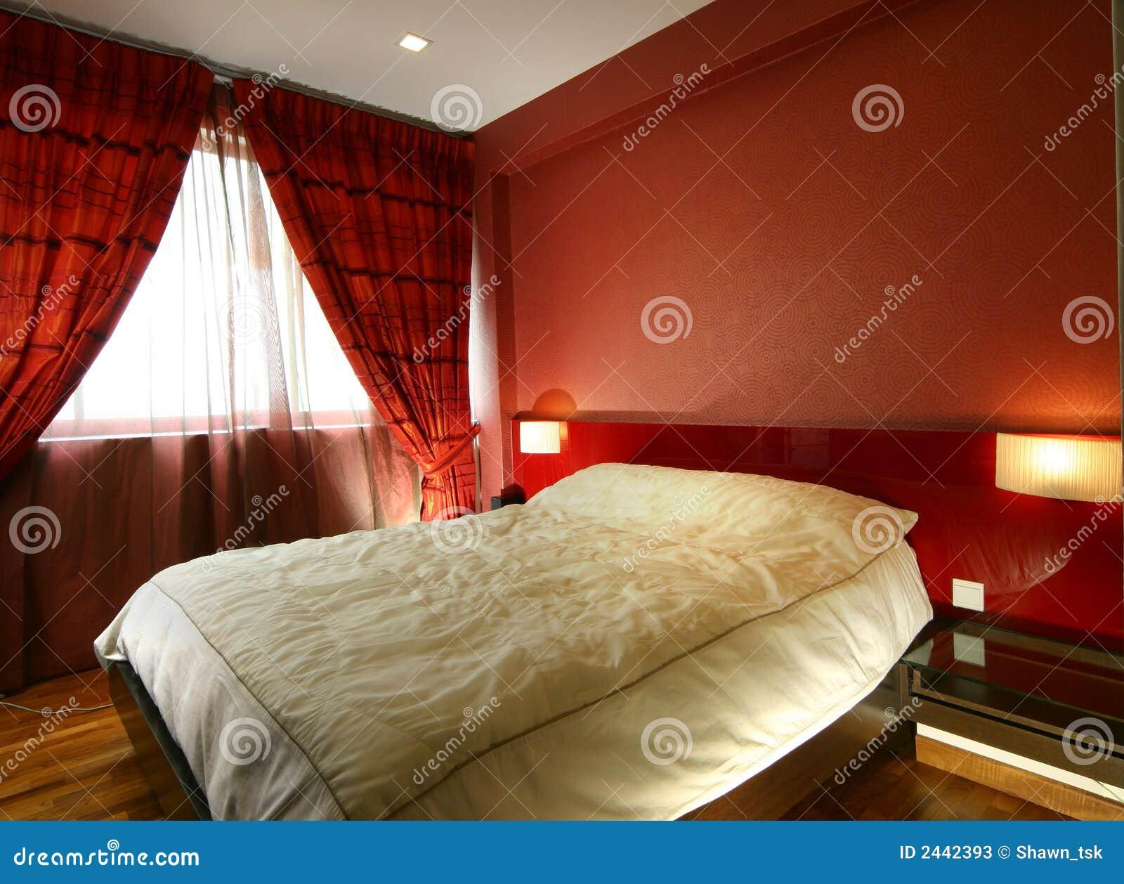 Interior Designer Camera Da Letto.Interior Design Bedroom Stock Image Image Of Light 2442393
