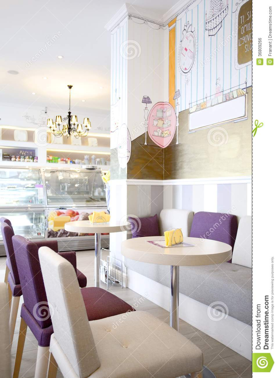 Cake House Interior Design : Interior Design Royalty Free Stock Image - Image: 36809266