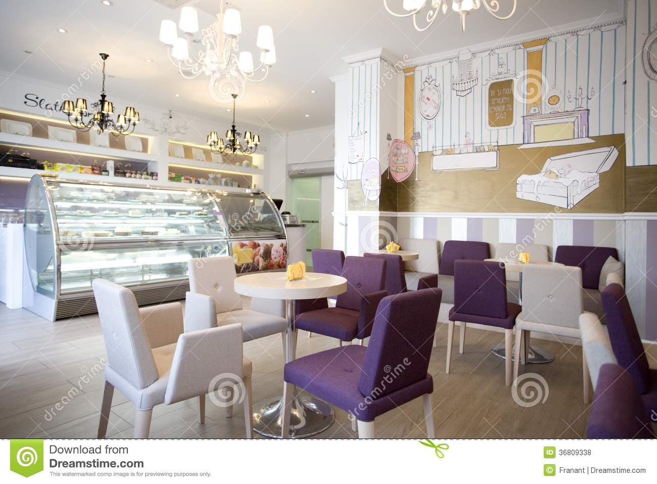 Interior design stock photo image of eating romantic for Interior design photos