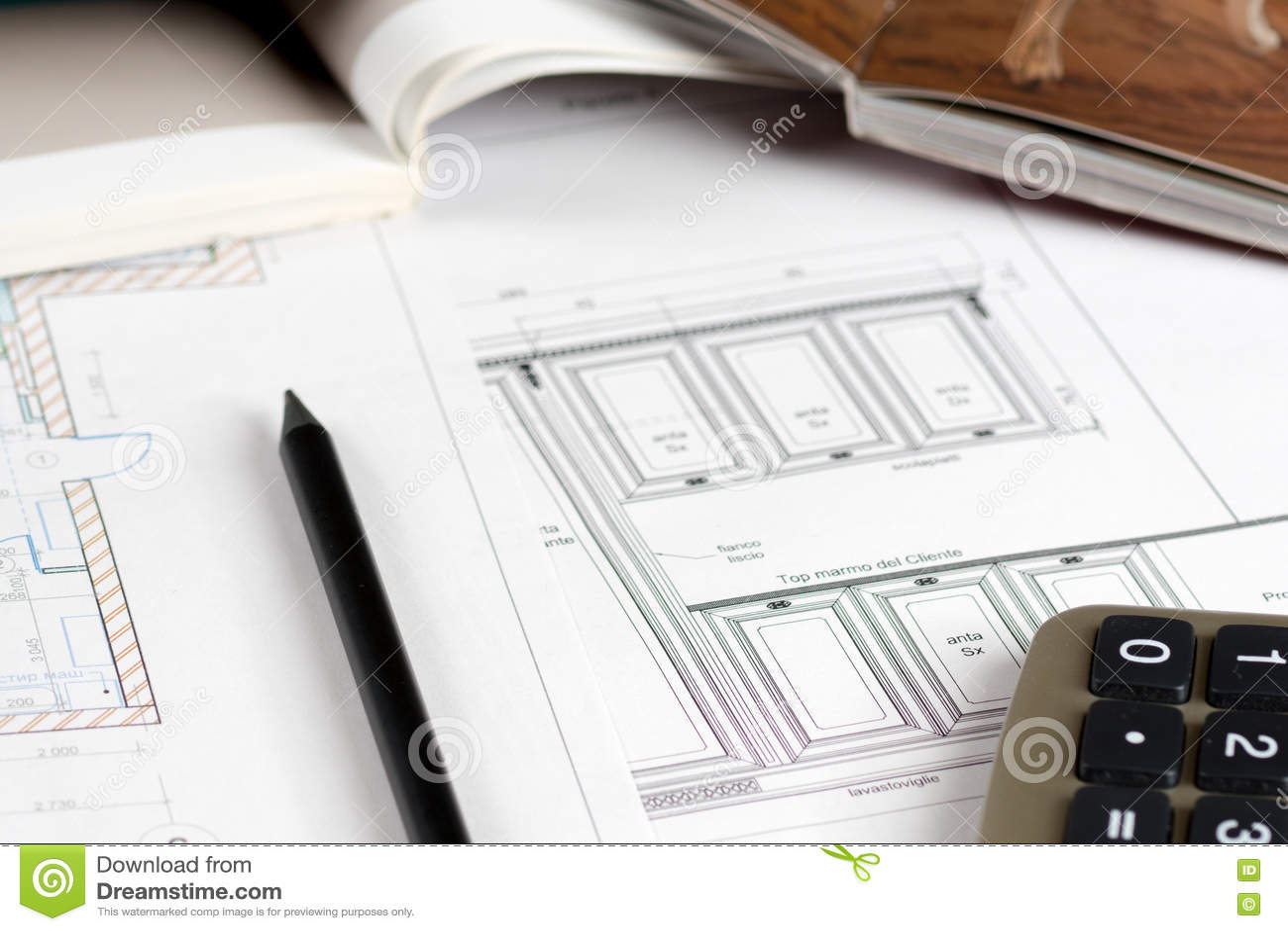 Rc Furniture Interior Design Stock Dealer ~ Sketch furniture royalty free stock photography