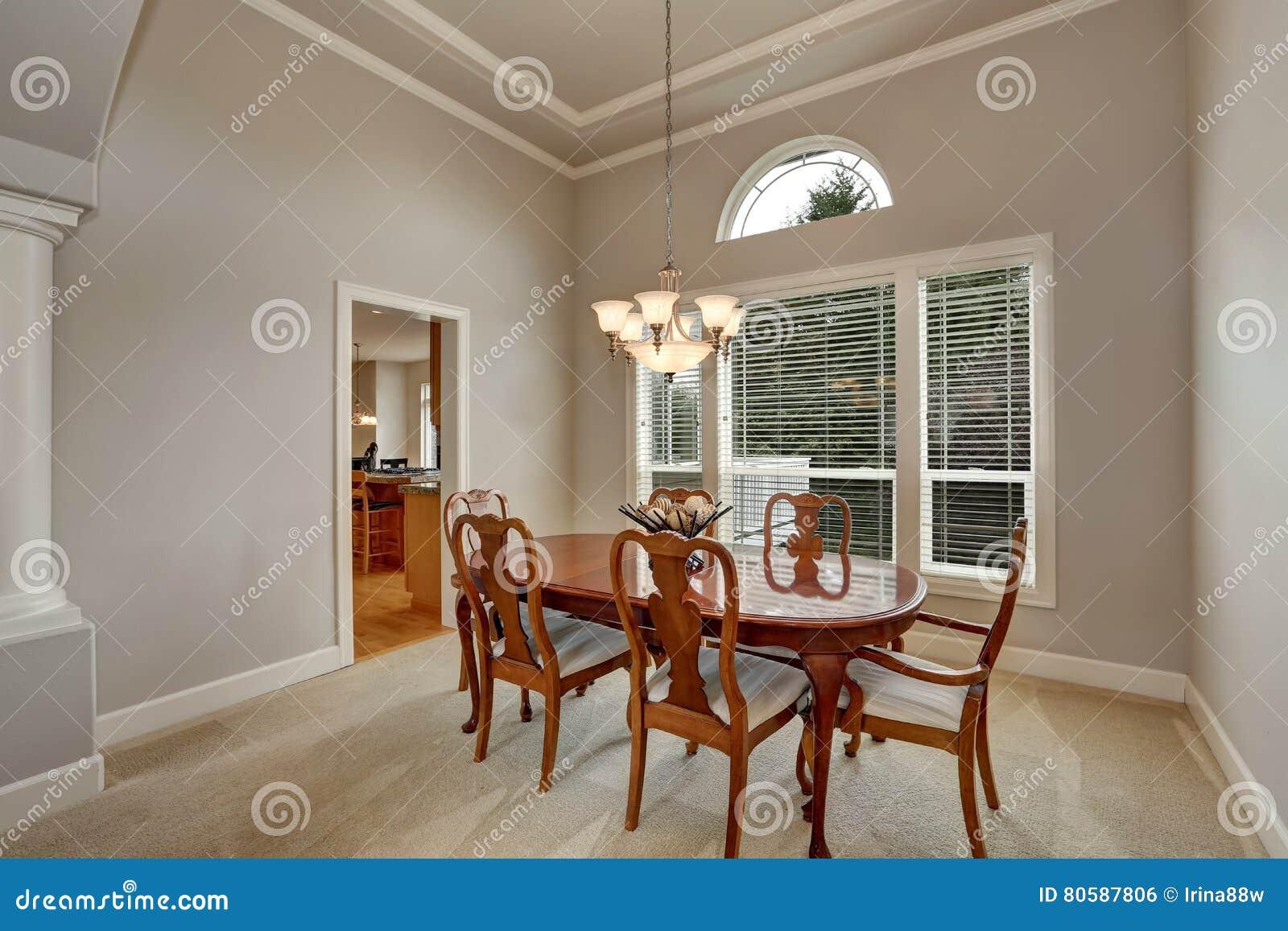 Tavoli Da Pranzo Classici : Interior design del tavolo da pranzo americano nello stile