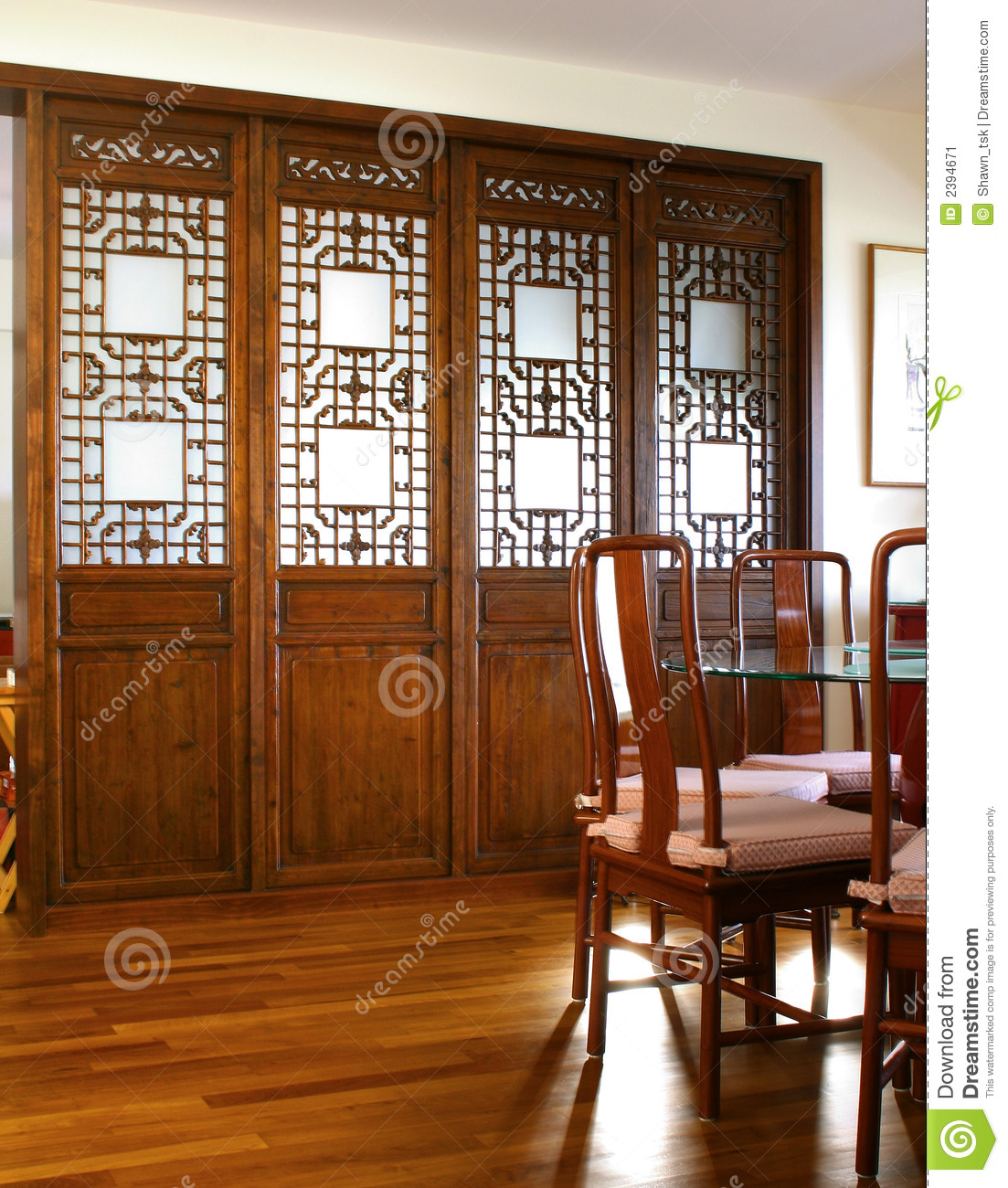 Interior design dining area stock image image 2394671 for Interior design for dining area