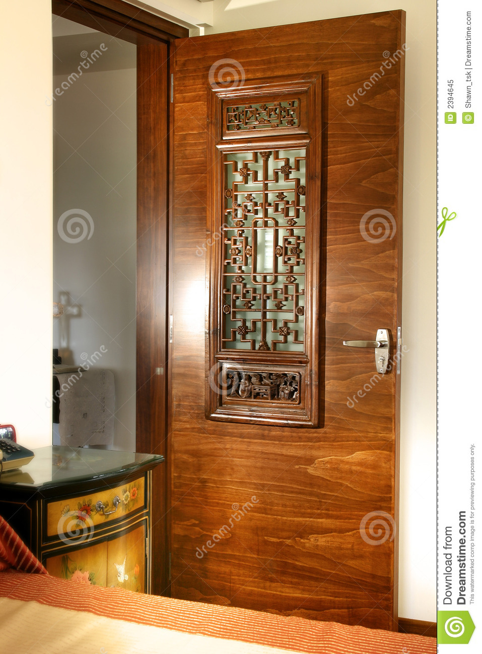 Interior design door panel royalty free stock photo for Main door panel design