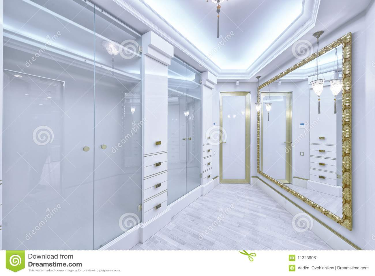 Luxurious Interior In A Modern House Stock Image