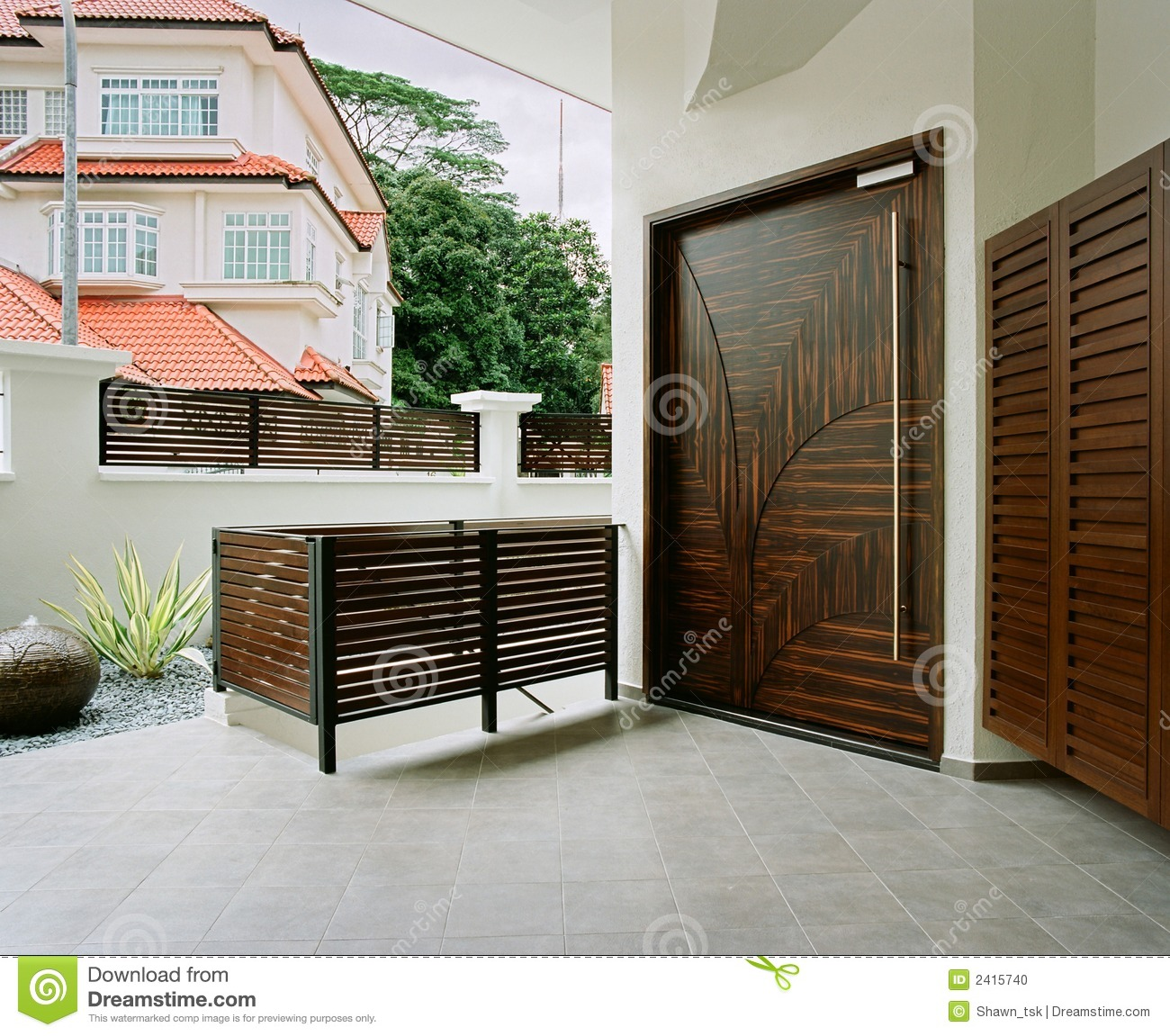 Modern Foyer Area : Interior design foyer stock photo image of architecture