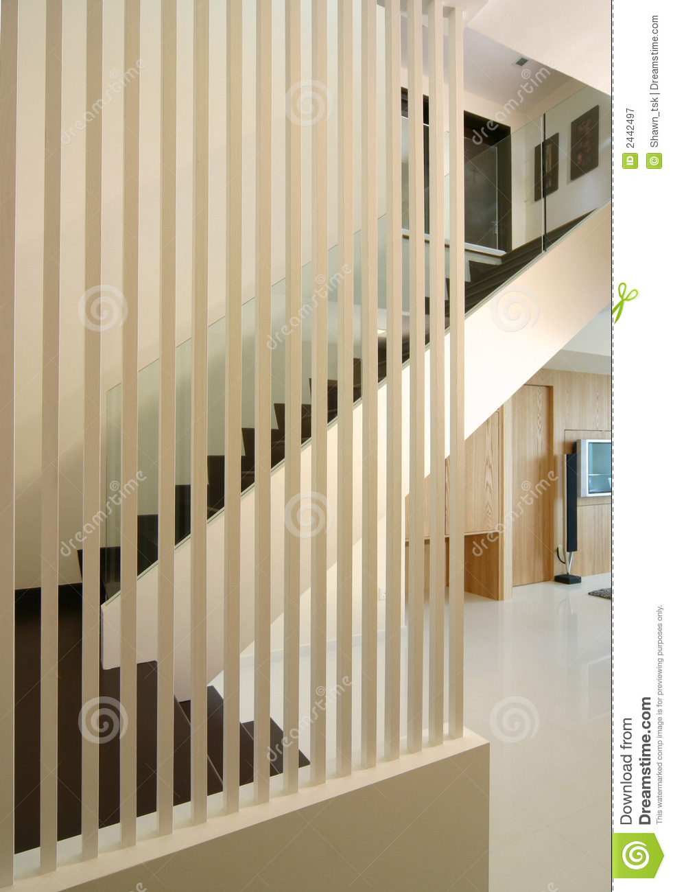 Townhouse Foyer Interior Design : Interior design foyer stock image of staircase