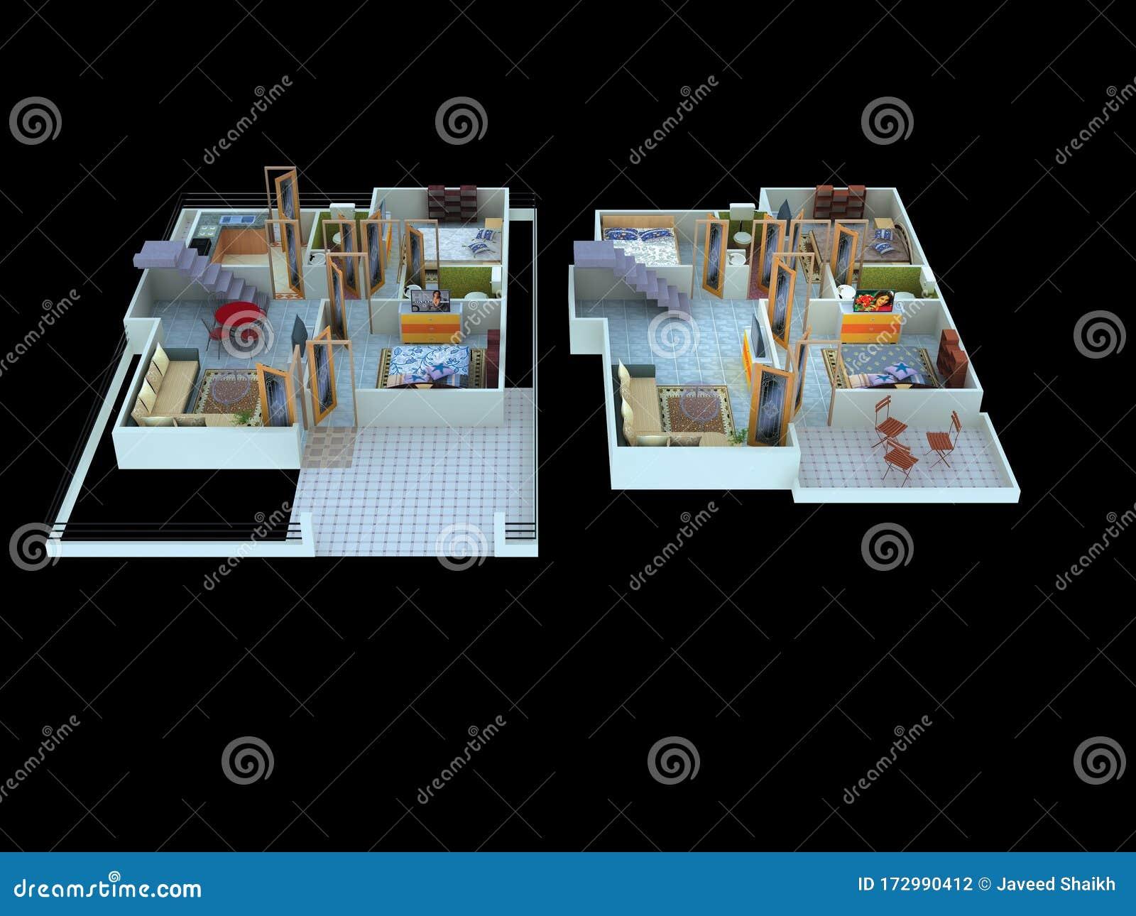 Interior Design Ideas Home Decorating Stock Illustration Illustration Of Designs Decorating 172990412