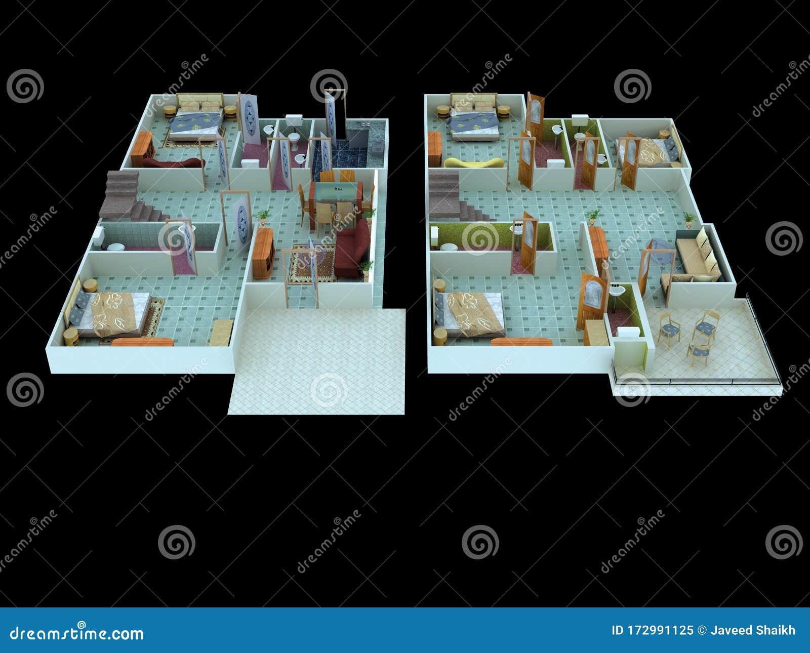 Interior Design Ideas Home Decorating Stock Illustration Illustration Of Pinterest Apartment 172991125