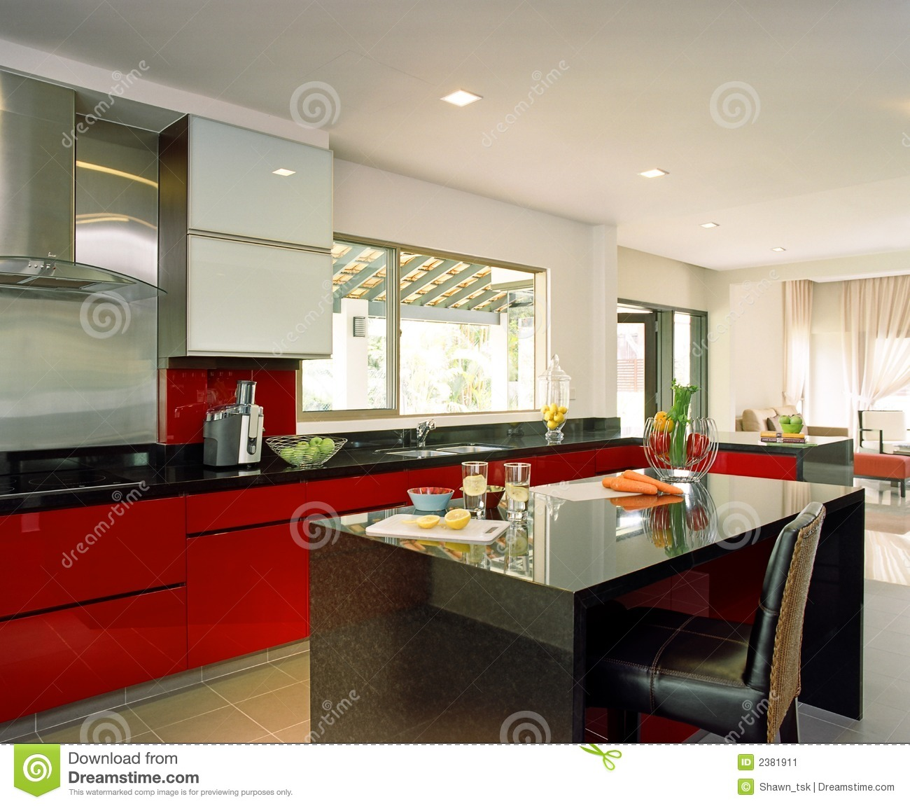 Interior Design Kitchen Stock Image Image 2381911