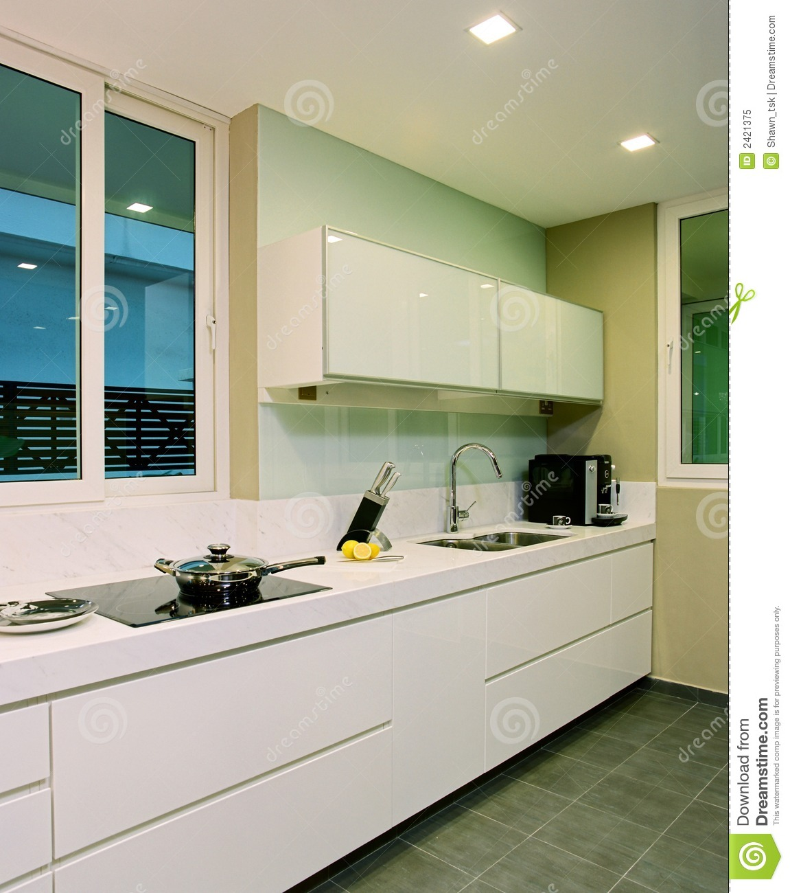Interior Design Kitchen Royalty Free Stock Photo Image 2421375
