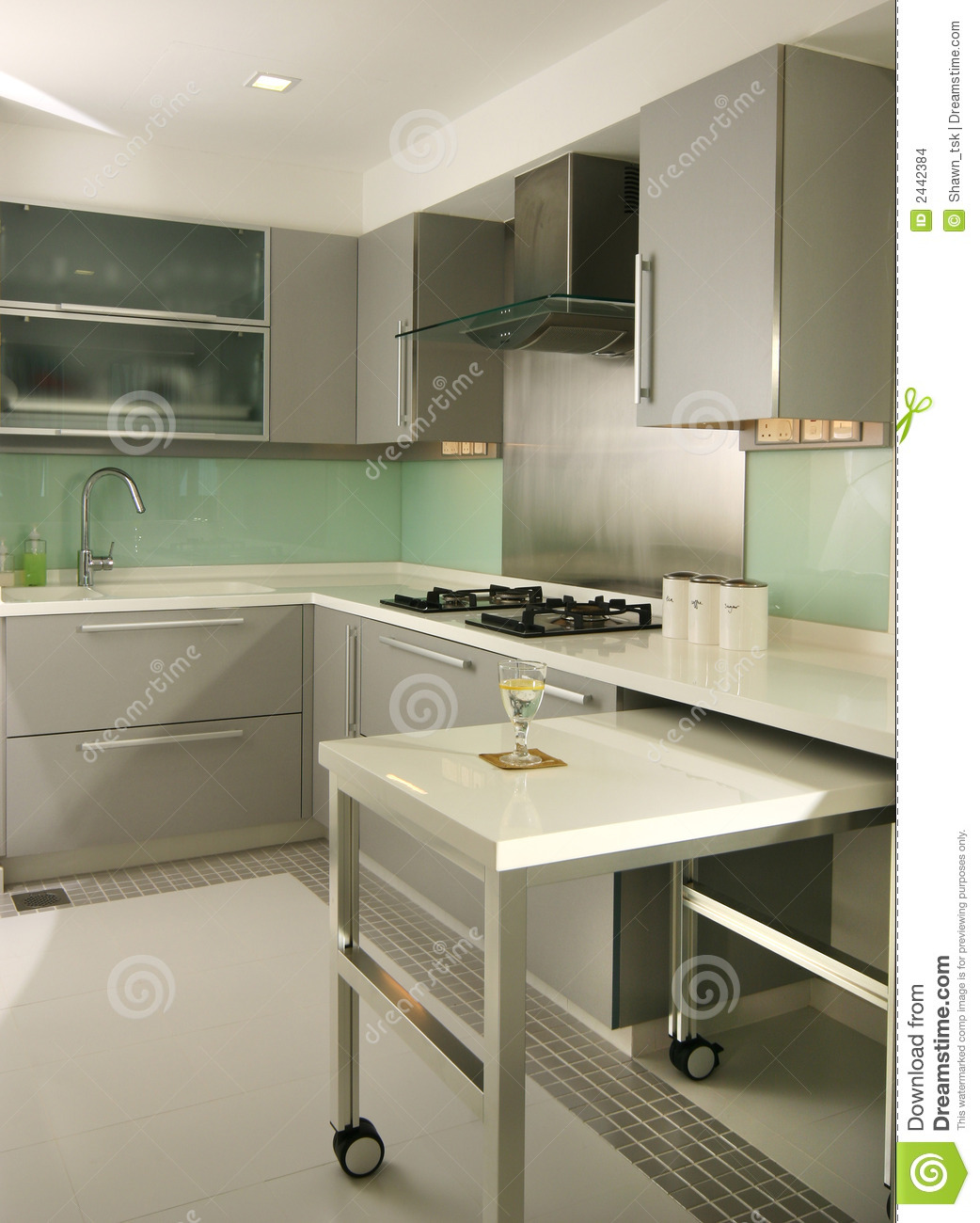 Interior Design Kitchen Stock Images Image 2442384