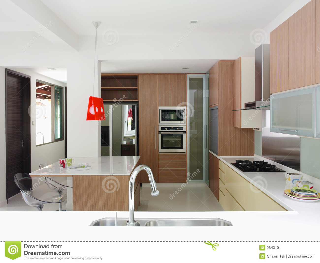 Interior Design Kitchen Stock Image Image 2643101