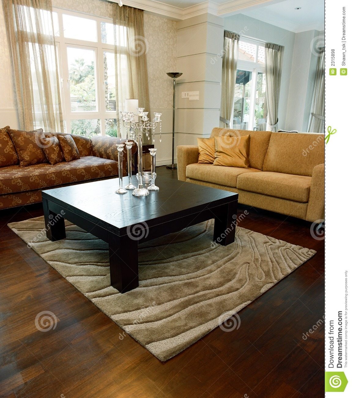Interior Design Living Area Royalty Free Stock Photos
