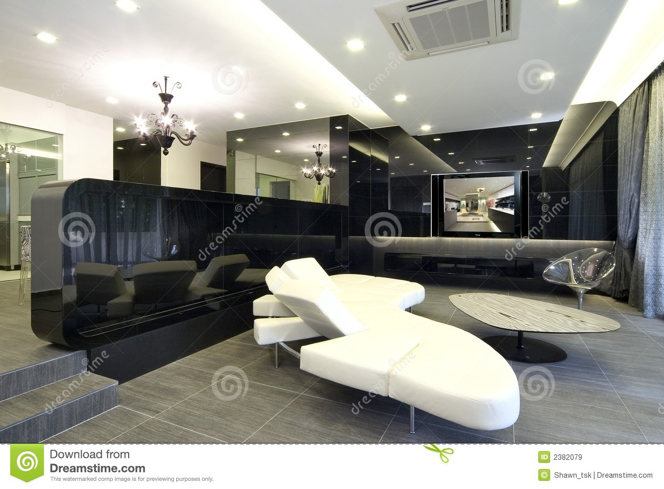 Interior Design Living Area Stock Image Image 2382079