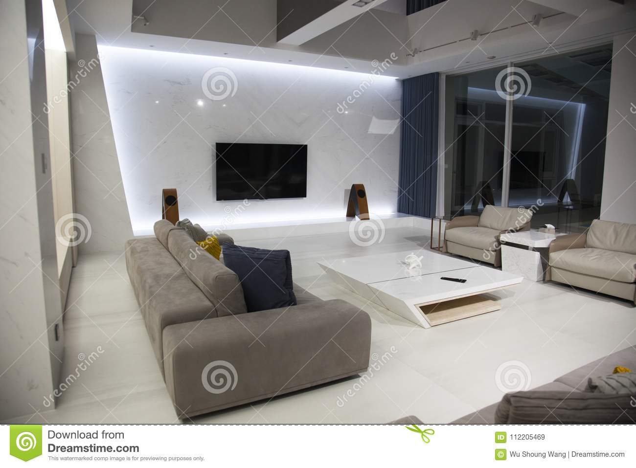 modern interior living room exclusive design | Interior Design, Living Room, Contemporary, Interior Stock ...