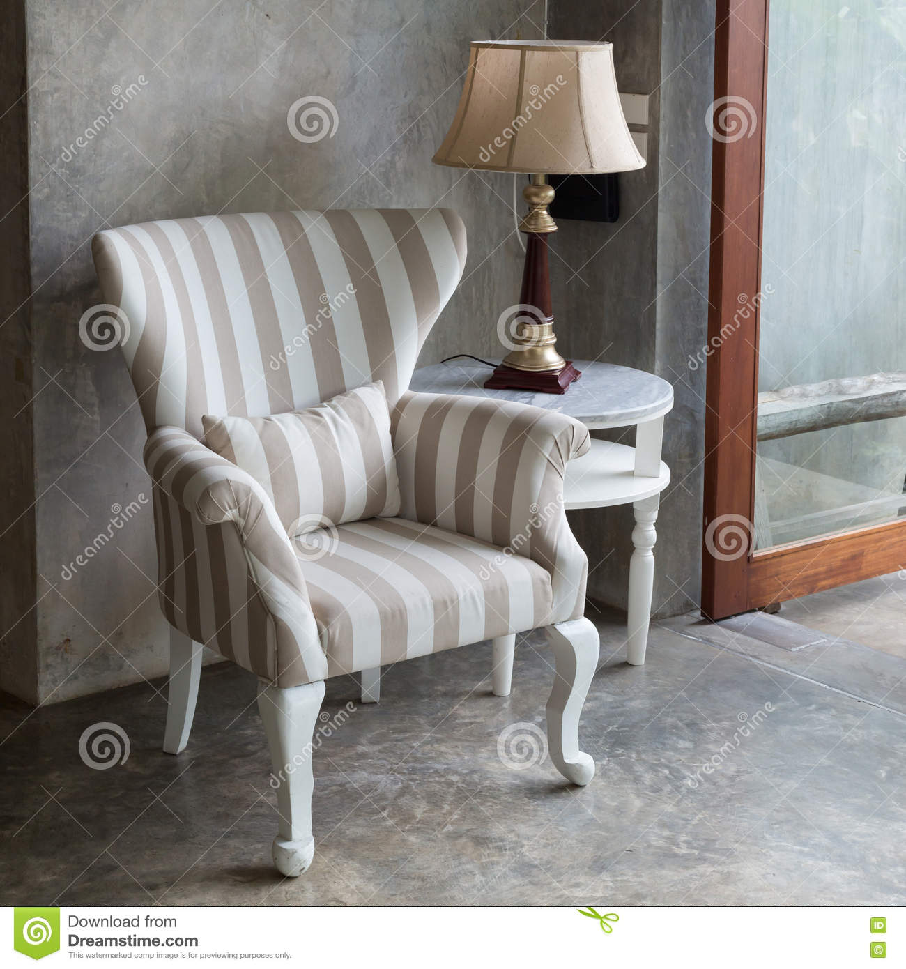 Rc Furniture Interior Design Stock Dealer ~ Empty living room interior in modern style royalty free