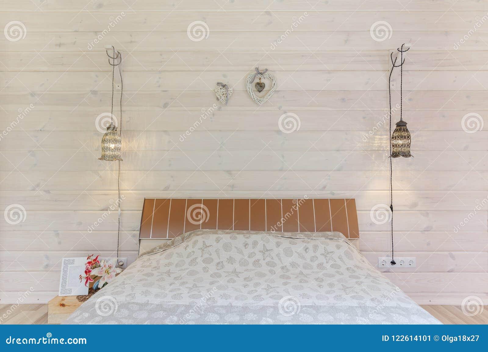 Design Scandinavo Camera Da Letto.Interior Design Luminoso E Comodo Della Camera Da Letto Nello