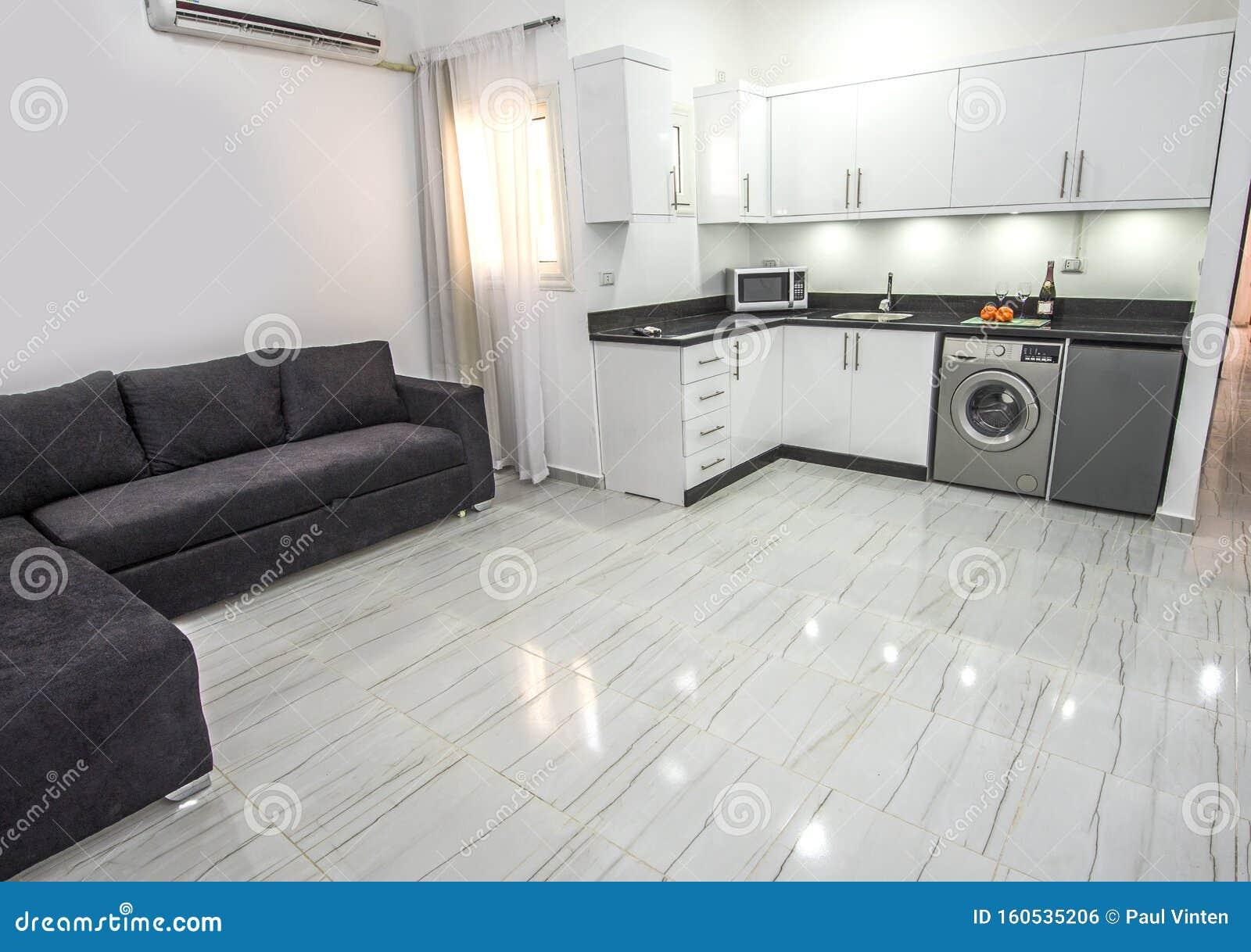 Interior Design Of Luxury Apartment Living Room Stock Photo Image Of Floor Machine 160535206