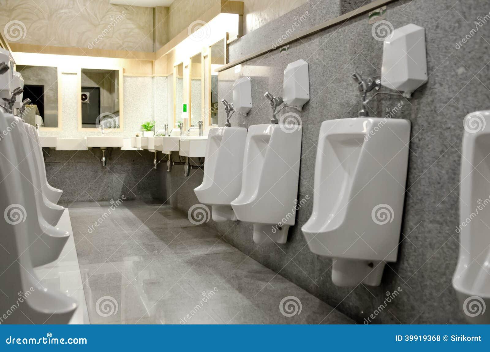 Interior Design Of Men S Toilet Stock Photo Image Of