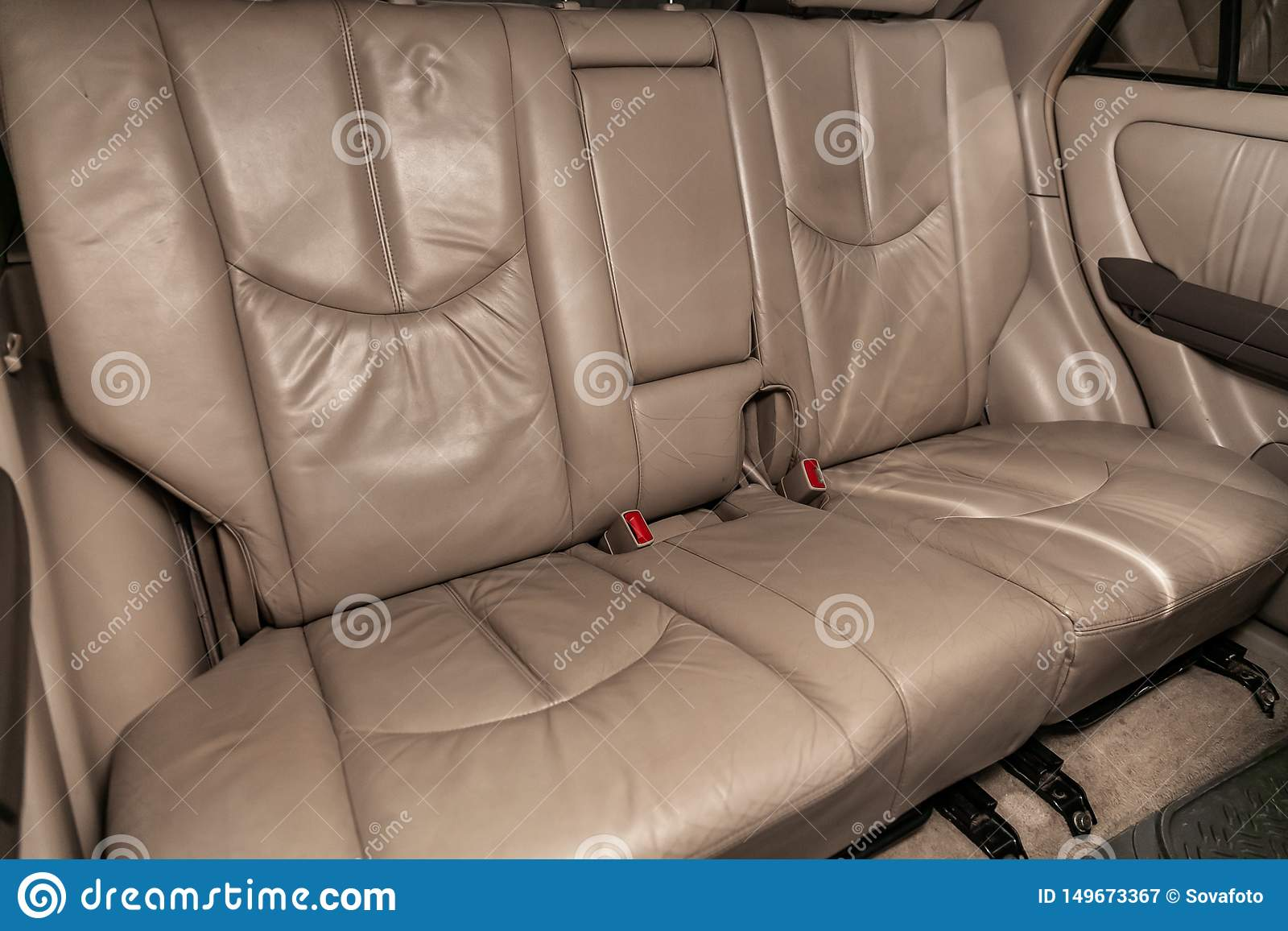 Car Interior Rear