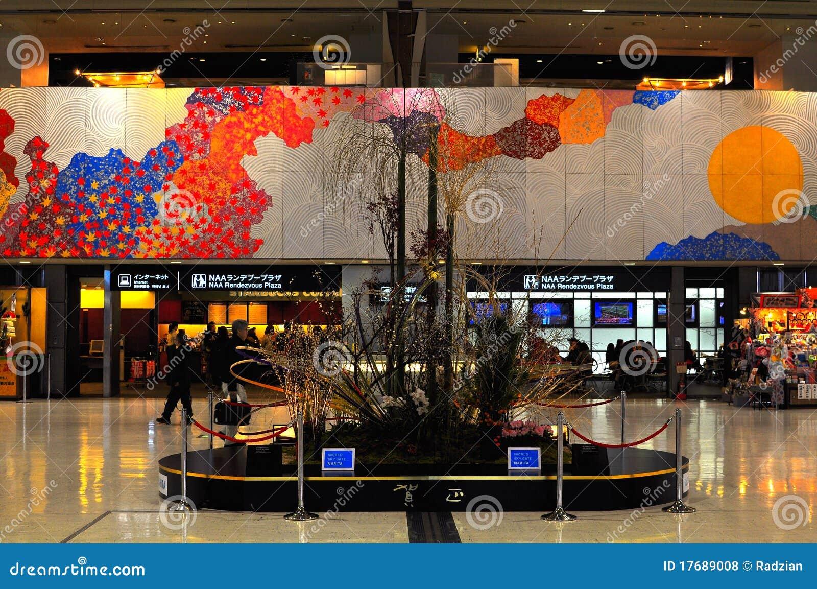 Interior Design Of Narita Airport Editorial Stock Photo