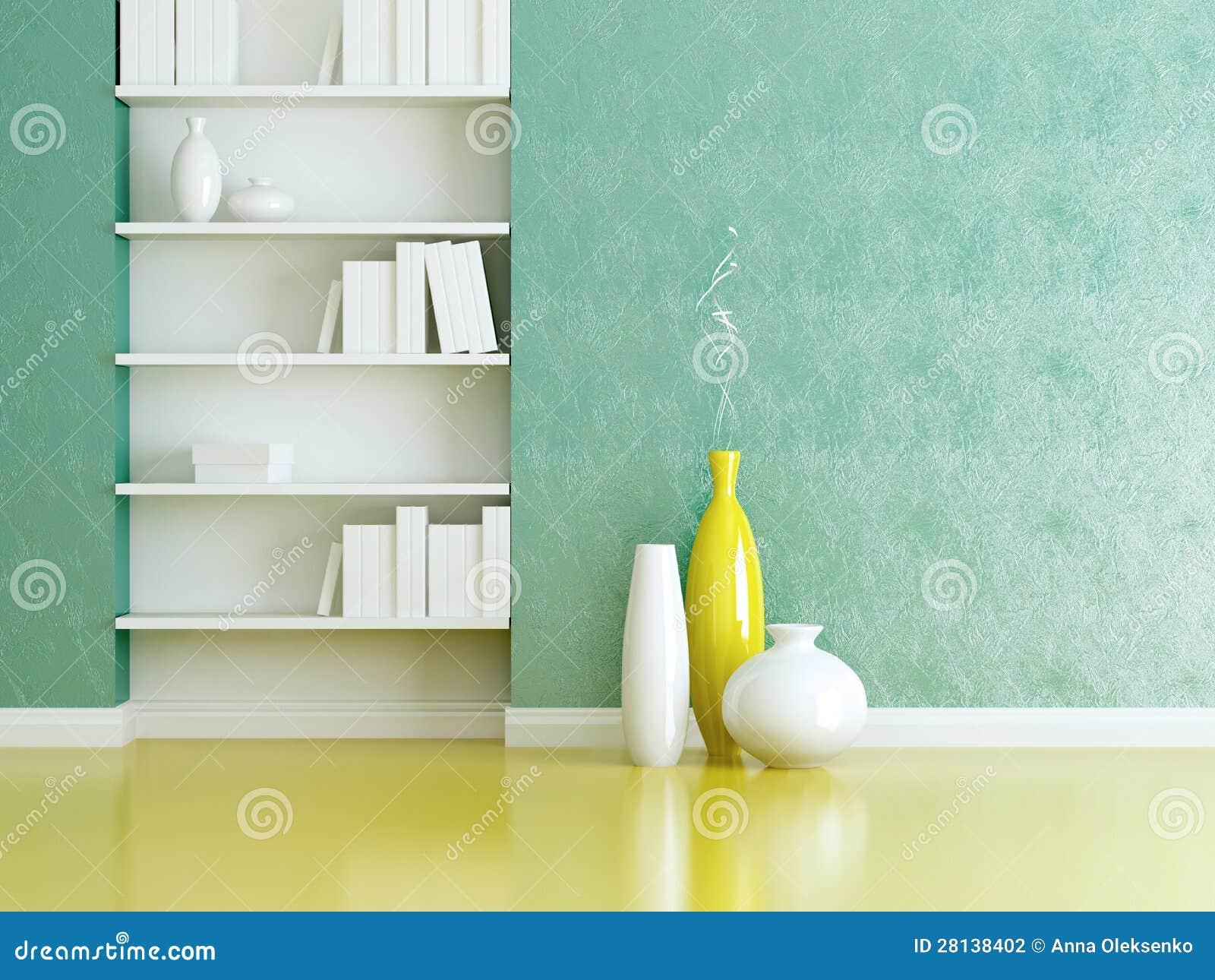 Interior design scaffali per libri e vasi dell 39 interno for Scaffali design